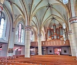 Theley, Kath. Kirche St. Peter, Mayer-Orgel (10).jpg