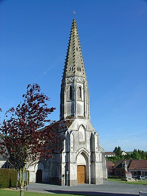 Thiembronne - The church of Thiembronne