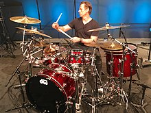 Thomas Lang Performing Live at Drum Channel, California 2018.jpg