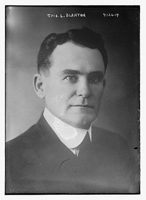 Texas's 17th congressional district - Image: Thomas Lindsay Blanton in 1917