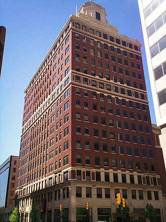 Thompson Building - The Thompson Building in downtown Tulsa