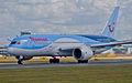 Thomson Airways, Boeing 787-8 Dreamliner, G-TUIA (18570987296).jpg