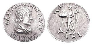 Thraso Indo-Greek king