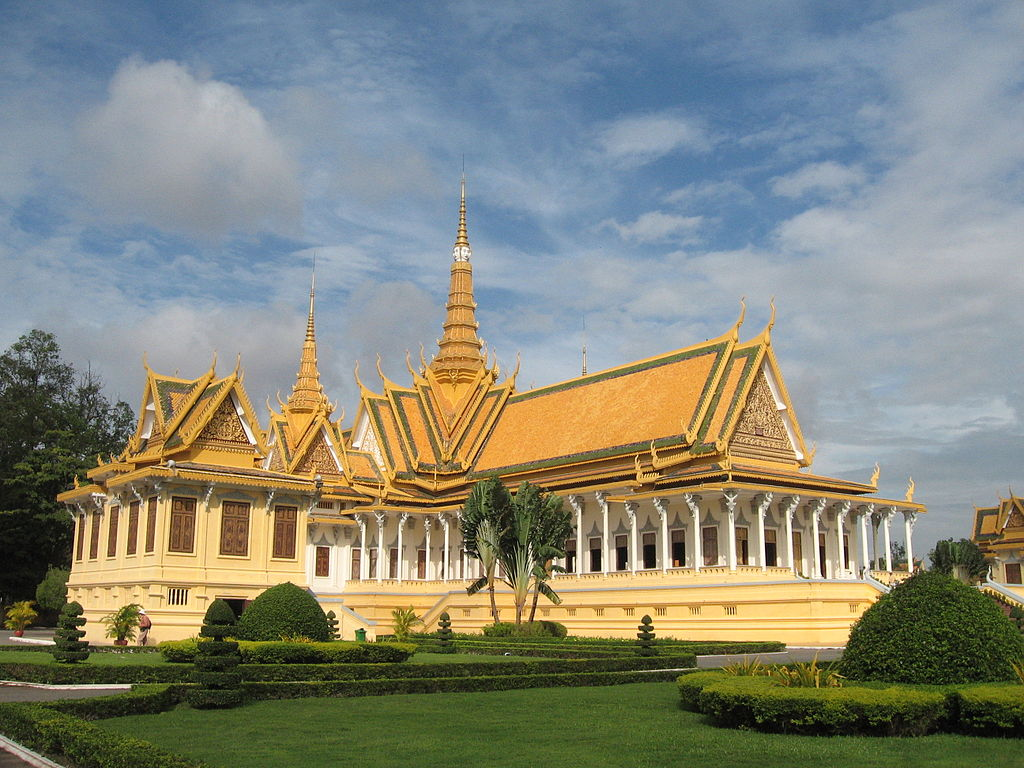 File Throne Hall Royal Palace Phnom Penh Cambodia Jpg