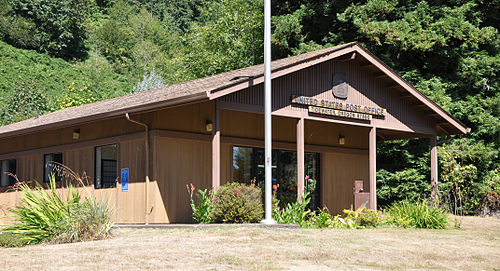 Tidewater Oregon post office