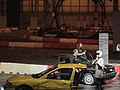 Tiff Needell and Vicki Butler from The Fifth Gear at Top Gear Live (Ank Kumar) 07.jpg