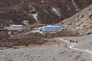 Tilicho Peak - Image: Tilicho Base Camp
