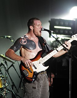 Tim Commerford nel 2008