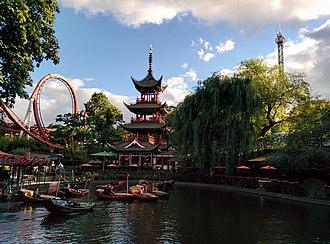 Knud Arne Petersen - Image: Tivoli Gardens pagoda