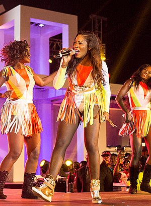 Tiwa Savage - Tiwa Savage performing at GTBank's Annual Year End Concert in December 2014
