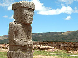 """The Ponce Stela"", Tiwanaku,"
