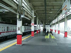 Tōbu-Dōbutsu-Kōen Station - Image: Tobu railway Tobu dobutsu koen station platform 4 5