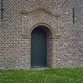 Toegangsdeur aan de westgevel van de toren - Boksum - 20329368 - RCE.jpg