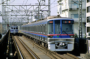 Toei 6300 series - Set 6312 in February 1999