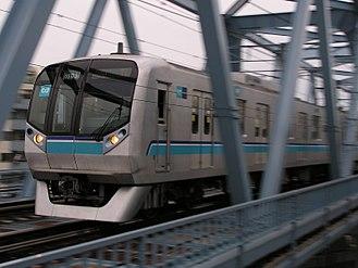 Tōyō Rapid Railway Line - Image: Tokyometeotozai 05 133F