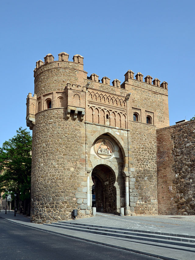 Puerta Del Sol Sehensw Rdigkeit In Toledo Spanien
