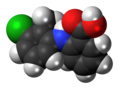 Tolfenamic acid molecule spacefill.png