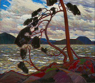 <i>The West Wind</i> (painting) painting by Tom Thomson