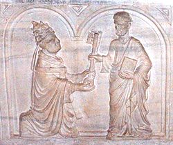 Tomb of pope Urbanus VI detail.jpg