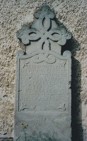Pasteur à Wintersbourg de 1747 à 1776.