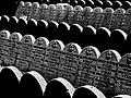 Tombstones in Kozma Street Jewish cemetery 03.jpg