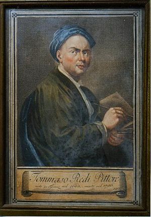 Tommaso Redi - Self-Portrait