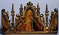 Tommaso da Modena, L'Annunciazione; i santi Francesco e Chiara (cimasa del trittico), Museo Civico di Modena.jpg