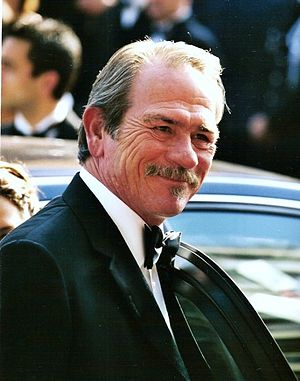 Français : Tommy Lee Jones au festival de Cannes.