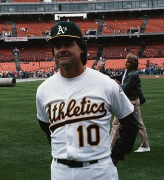 Tony La Russa - La Russa with the Oakland A's in 1989