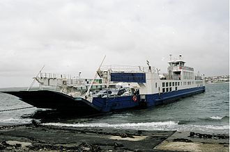 Torpoint Ferry - One of current ferries in 2005