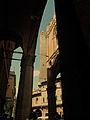 Torre degli Asinelli da un portico di via Castiglione.jpg
