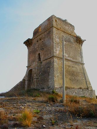 Gela - The Torre di Manfria.