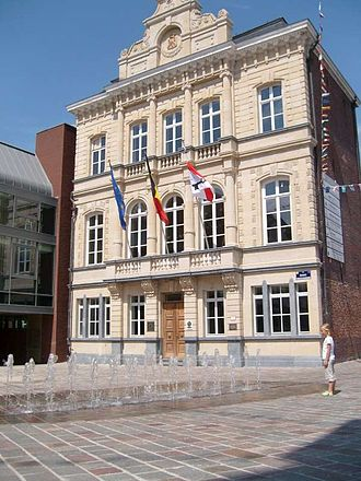 Tielt - Townhall of Tielt