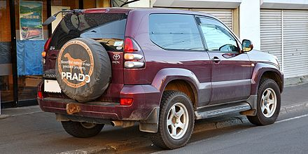 Toyota Land Cruiser Prado - Wikiwand