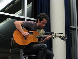 Trace Bundy - Trace performing with multiple capos.