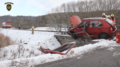 Traffic accident of car and train, Žlutice, Czech Republic 14.png