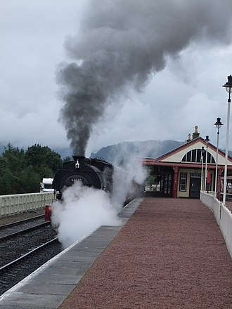 Aviemore railway station - Strathspey railway services have operated from this station since 1998.