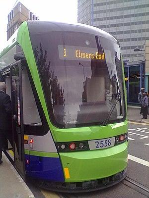 Variobahn - Variobahn on London's Tramlink network