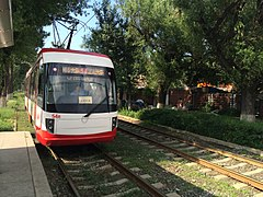 Trams in Changchun 900 series (1).JPG