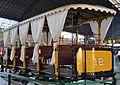 Tramvia a cavalls de 1890 exposat a l'estació del Nord, València.JPG