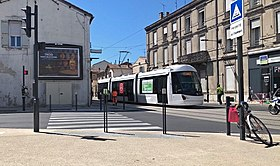 Image illustrative de l'article Tramway d'Avignon