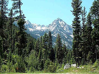 Bitterroot National Forest - Trapper Peak in Bitterroot National Forest