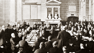 Treaty of Saint-Germain-en-Laye (1919) treaty signed on 10 September 1919