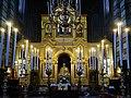 Trieste Tempio serbo-ortodosse della Santissima Trinità e di San Spiridone Innen Iconoastasi 2.jpg