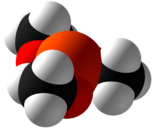 Trimethyl phosphite Space Fill.png