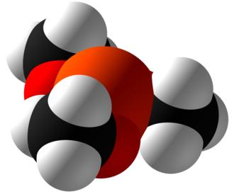 Trimethyl phosphite - Image: Trimethyl phosphite Space Fill