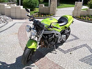 Triumph Speed Triple - Image: Triumph T509