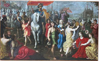 Triumph of king David