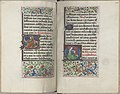 Trivulzio book of hours - KW SMC 1 - folios 135v (left) and 136r (right).jpg