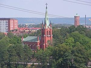 Kirche von Trollhättan